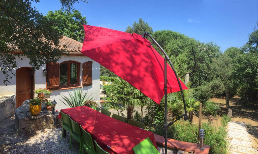 La Maisonnette terrasse