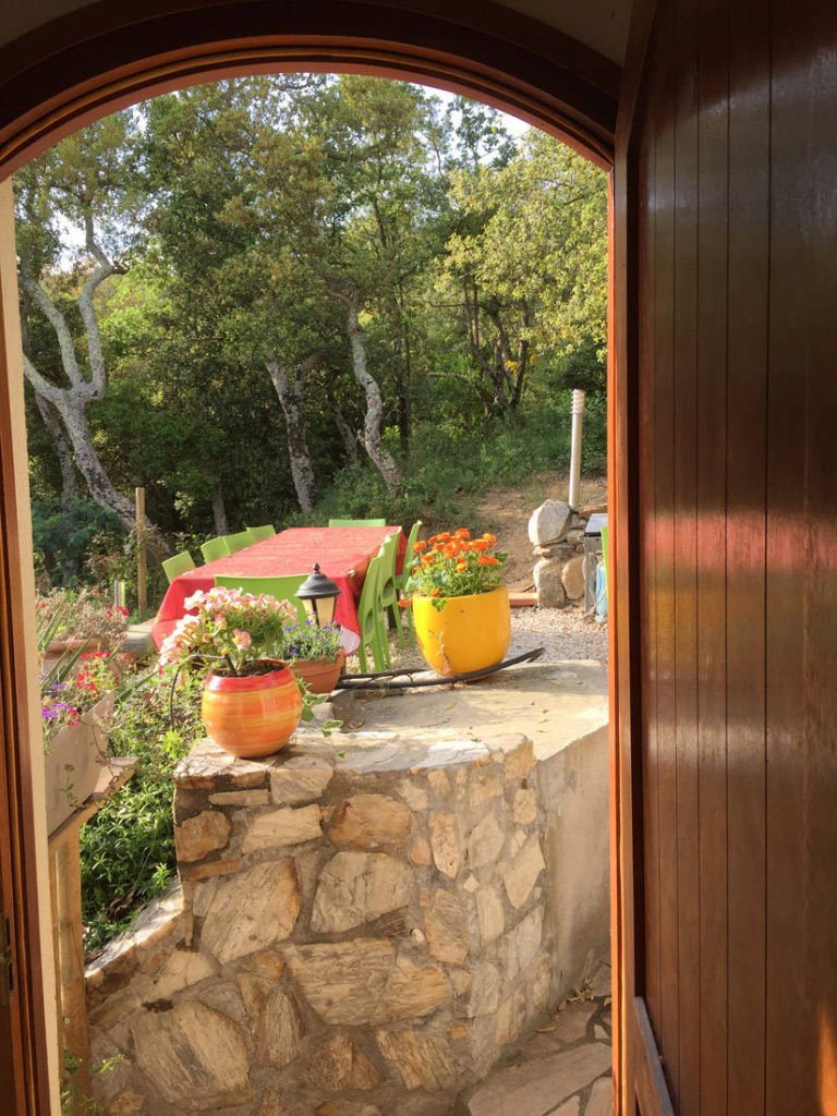 La Maisonnette vue terrasse